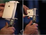 Bild: Das iPhone 6s ist geringfügig breiter und höher als das aktuelle Modell.