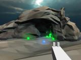 Bild: Der Interactive Cave Shooting Simulator überträgt das Spielgefühl der Destiny-Loot Caves in euren Browser.
