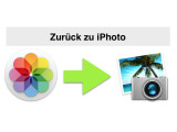 Bild: Mit dem Update auf OS X 10.10.3 kam auch die Fotos-App auf den Mac. Viele Nutzer wünschen sich jedoch die alte iPhoto-Software zurück.