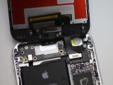 Bild: Ein Bastler hat iPhone 6- und iPhone 6S-Bauteile miteinander verbunden.