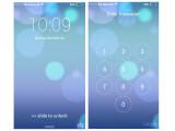 Bild: Der Sperrbildschirm kann das Outfit deines Android-Smartphones gehörig verändern. Beispielsweise simulierst du damit ein iPhone.