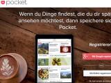 Bild: Mit der Browser-Erweiterung für den Computer von Pocket speichert ihr euch interessante Webseiten ab, um diese später auf einem mobilen Gerät oder einem anderen PC lesen zu können.