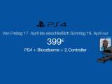 Bild: Ein echtes Schnäppchen zum Wochenende: PS4 + Bloodborne + 2 DualShock 4-Controller für 399 Euro.