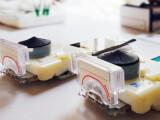Bild: Das Gerät ermöglicht Tests für HIV und Syphilis.