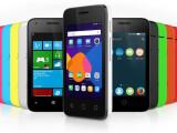 Bild: Das Alcatel OneTouch Pixi3 soll wahlweise mit Android, Windows Phone oder Firefox OS laufen.