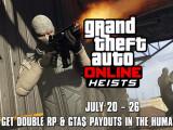 Bild: GTA Online Heists: Im Juli gibt es mehr Erfahrungspunkte und Geld.