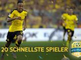 Bild: In FIFA 16 rennt ihr mit den schnellsten Spielern nahezu jedem Verteidiger davon.