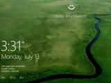 Bild: Microsoft stellt Windows Hello vor.