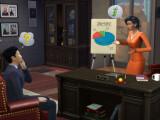 Bild: Mit dem Update für Die Sims 4 erfolgreich ins virtuelle Berufsleben.