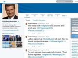 """Bild: Der Twitter-Account von EU-Kommissar Günther Oettinger. Schon bald wird er sich als Kommissar für """"Digital Economy and Society"""" um unser digitales Wohlergehen sorgen."""