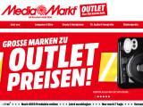"""Bild: """"Große Marken zu Outlet-Preisen"""". Der Technikabverkauf von Media Markt suggeriert gute Preise."""