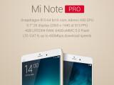 Bild: Das Xiaomi Note Pro bietet ein 2K-Display und wird vom neuen Top-Prozessor Snapdragon 810 angetrieben.