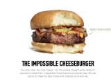 Bild: Vollständig auf pflanzlicher Basis: Impossible Foods stellt alternatives Fast Food her. Die Übernahme durch Google scheiterte.