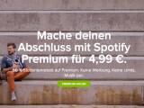 Bild: Für Studenten ist Spotify ab sofort günstiger.