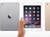 Bild: Auf der Keynote vom 16. Oktober hat Apple auch das iPad mini 3 vorgestellt.