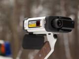 Bild: Beim 24-Stunden-Blitz-Marathon 2014 können verschiedene Messeinrichtungen zum Einsatz kommen, auch das hier gezeigte Laserhandmessgerät.