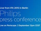 Bild: Auch Philips zeigt auf der IFA in Berlin.