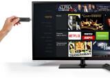 Bild: Mit dem Amazon Fire TV Stick wird kein Netzteil wie etwa bei der Set-Top-Box benötigt.