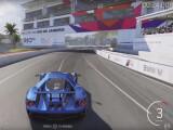 Bild: Der Spoiler des neuen Ford GT zeigt sich um Video.