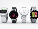 Bild: Die Alcatel Onetouch Watch gibt es in verschiedenen Variationen.