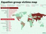 Bild: Kaspersky stellt die Opfer der Equation Group vor.