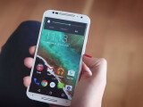 Bild: Motorola präsentiert das Moto X mit Android 5.0 Lollipop.