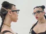 Bild: FKA Twiggs trägt Google Glass in ihrem neuen Musikvideo.