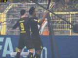 Bild: Die Fußballstars von Borussia Dortmund spielen FIFA 16 Ultimate Team.