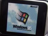 Bild: Mithilfe eines Emulators hat Davenport Windows 95 zum Laufen bekommen.