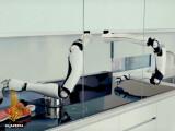 Bild: Lässt den Thermomix aber so was von alt aussehen: Roboter-Koch von Shadow Robotics.