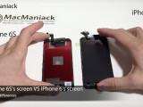 Bild: iPhone 6S und iPhone 6 im Display-Vergleich: Der Apple-Händler MacManiak zeigt in einem Video die technischen Unterschiede auf.