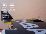 Bild: Das Galaxy S6 im Flugduell mit einem Jetman.