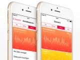 Bild: Die Healt-App sammelt deine gesamten Gesundheits- und Fitnessdaten, zeigt diese übersichtlich an und bereitet die Daten grafisch auf.