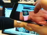 Bild: Noch vor dem offiziellen Verkaufsstart der Apple Watch könnt ihr die Sport-Version virtuell anprobieren.
