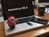 Bild: Android und Mac OS X benötigen für den Datenaustausch über das USB-Kabel einen Vermittler.