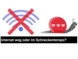 Bild: Ist das Internet langsam, so könnt ihr einige Ursachen selbst beheben.