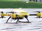 Bild: Der fliegende Defibrillator aus den Niederlanden. Die Drohne soll Leben retten.