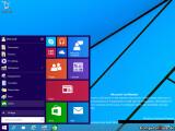 """Bild: Das neue Startmenü von Windows 9 alias """"Threshold""""."""