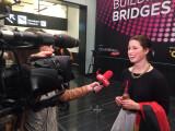 Bild: Vertritt Deutschland beim ESC: Ann Sophie beim Interview
