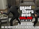 Bild: Rockstar verteilt wieder Boni bei GTA Online-Heists.