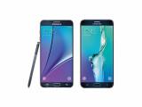 Bild: Diese Pressebilder des Note 5 und des Galaxy S6 Edge Plus verbreitet evleaks im Netz.