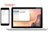 """Bild: Die """"Integration""""-Funktion macht es möglich: SMS werden am Mac versendet und empfangen."""