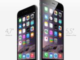 Bild: Das neue iPhone 6 hat ein größeres Display. Dadurch passen mehr Apps auf den Homescreen.