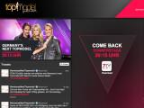 Bild: Über ProSieben Connect wird die Aufzeichnung des Finales von GNTM über das Internet gestreamt.