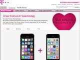 Bild: Telekom-Aktion: Ein Smartphone mit Vertrag bezahlen, das zweite gibt es kostenlos dazu.
