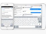 Bild: Die neue QuickType-Tastatur ist intelligenter und ermöglicht schnellere Texteingaben.