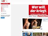 Bild: Erhält bald einen Tarif für Videokonsum ohne Werbung: die Google-Tochter Youtube.