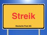 Bild: Bei der Deutschen Post wird gestreikt.