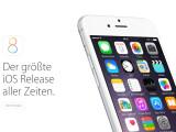 Bild: iOS 8 erscheint am 17. September