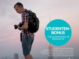 Bild: Mit dem Studenten-Bonus bis zu 300 Euro sparen.